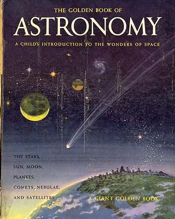 astronomy books space between the pages the golden book of astronomy a