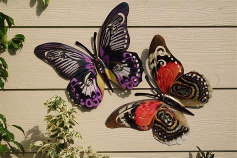 garden metal wall butterfly metal butterfly wall hanging evrgreen garden llc grow