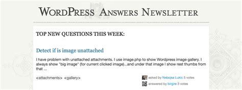 wordpress newsletter layout old newsletter design wordpress development meta stack