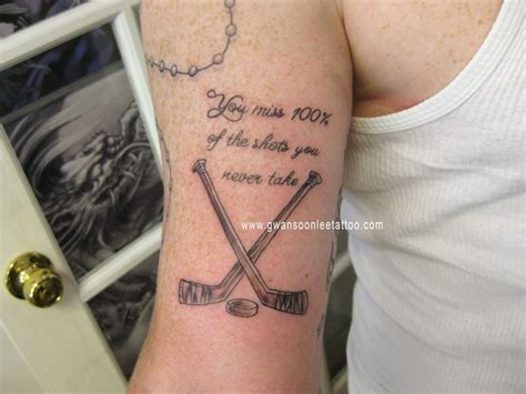 hockey tattoos hockey tattoos image galleries imagekb