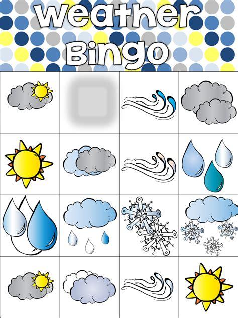 printable board game weather appleslices weather bingo