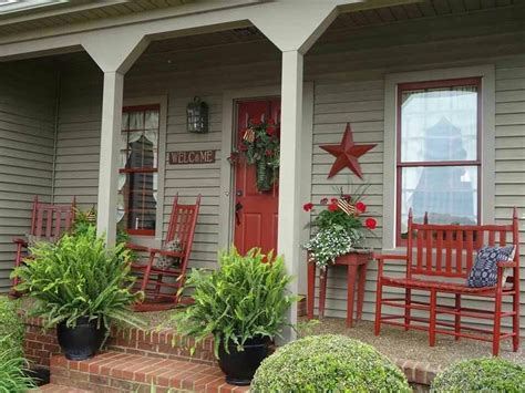 front porch decorating ideas from around the country diy love this porch outdoor spaces pinterest