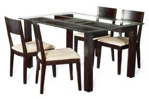 Designs For Dining Table Contemporary Dining Table Designs In Wood And Glass Modern Glass Wood Dining Table Trendy