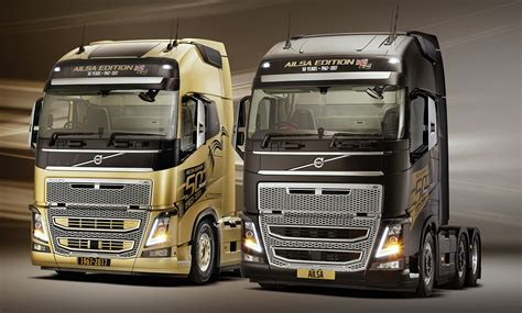 volvo truck and volvo trucks announce the ailsa limited edition