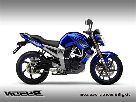 Lu Warna Warni Motor koleksi foto modifikasi motor byson warna biru otopacu