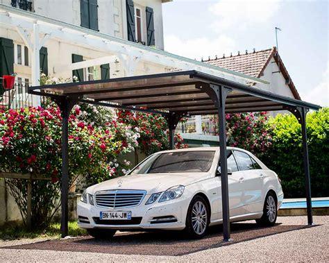tettoia per auto tettoia per posto auto in alluminio e policarbonato car