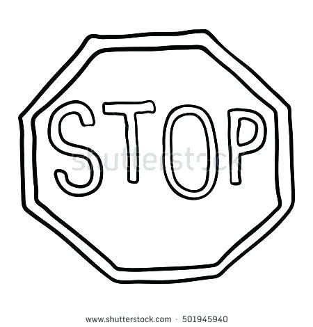 stop sign coloring page stop sign coloring peace sign coloring page stop sign
