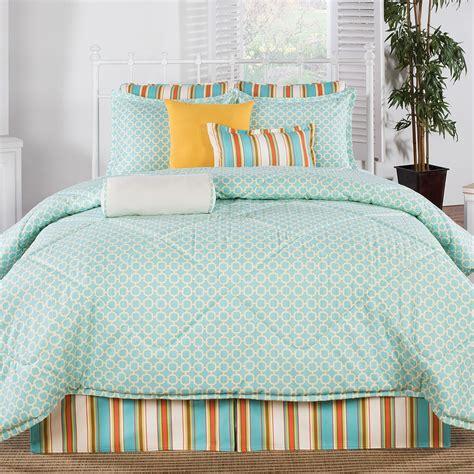 american made bedding grenada coral and aqua comforter american made dorm home