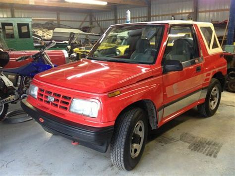 purchase used 1991 chevrolet geo tracker auto air 4x4 soft