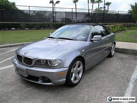 2 door bmw 3 series for sale 2004 bmw 3 series base convertible 2 door for sale in