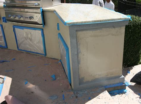 stucco outdoor kitchen custom built outdoor kitchens 2011 lazy l stucco with