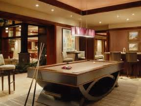 contemporary billiard pool room ideas