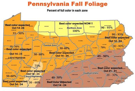 of pennsylvania colors pa environment digest 4th dcnr foliage report