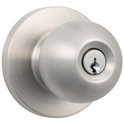 Deadbolt With Knob by Universal Hardware Heavy Duty Commercial Satin Chrome