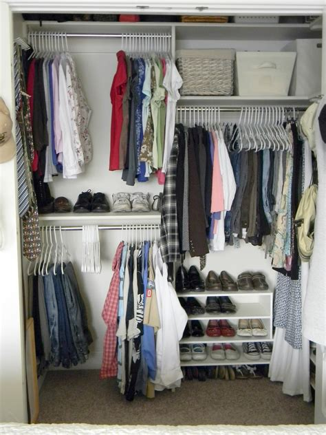 Organizing A Small Closet by Cleaning Decluttering And Organizing Organize