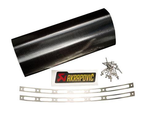 Motorrad Auspuff Reparieren by 189 95 Akrapovic Repair Kit For Muffler Sleeve Carbon 148113