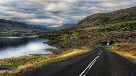 hp wallpaper winding road download wallpaper long and winding road along the lake