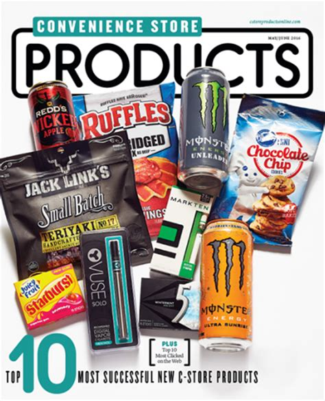 convenience store products may june 2016