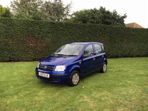 fiat panda 07 fiat panda dynamic 2007 07 blue car for sale