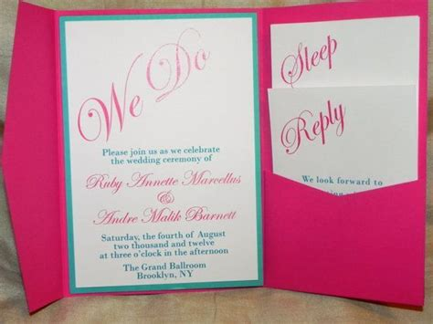 17 best images about pink wedding on pink flowers pink and pink weddings - Pink And Aqua Wedding Invitations