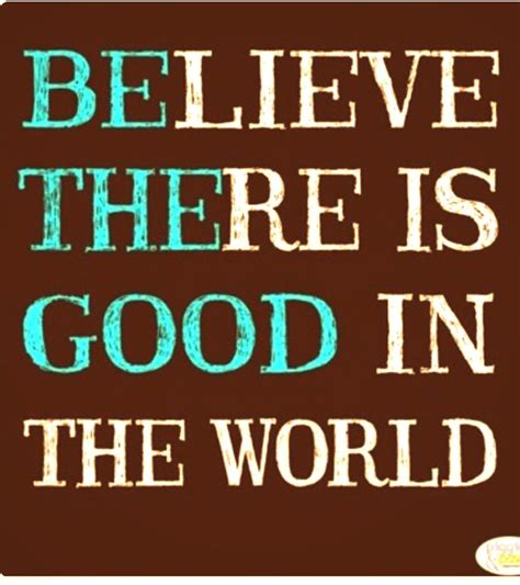 Is In by Believe There Is In The World