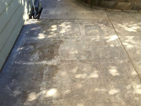 concrete stain  sealer patio makeover concrete exchange