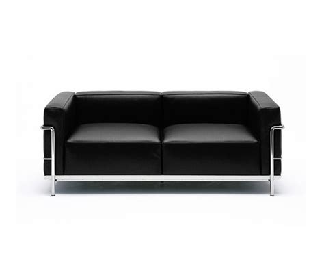 cassina canape lc3 by cassina 2 seater 3 seater armchair