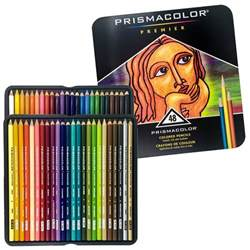 prismacolor 48 colored pencils prismacolor 48 colored pencils premier soft color