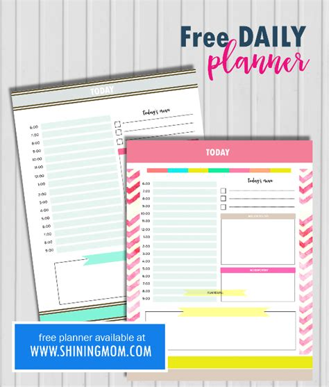 printable daily planner 2017 free free planner 2017 design your life