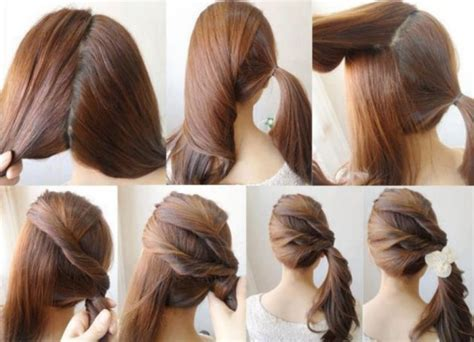 cute diy hairstyles easy best hairstyle tutorials for everyday