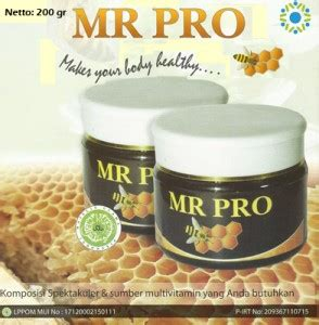 Madu Mr Pro Di Apotik semogabermanfaat