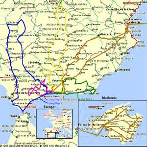 Ronda Spain Map by Ronda Spain Map Imsa Kolese