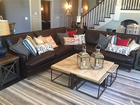 family sectional leather sectional family room sofa ideas pinterest