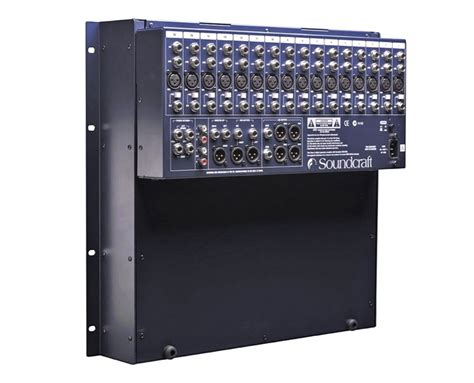 Soundcraft Rack Mount Mixer by Soundcraft Spirit Gb2r 16 Gb2r16 Gb2 16 Rack Mount Mixer