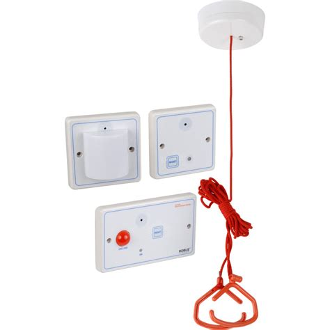 Bathroom Alarm by Disabled Persons Toilet Alarm Toolstation