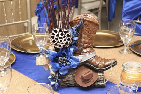 Cowboy Themed Wedding Decorations