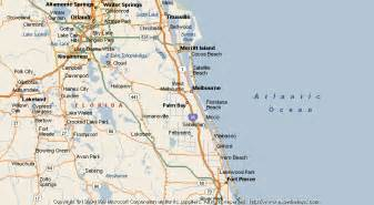 where is palm bay florida on the map florida map of palm bay