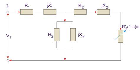 3 phase induction motor equivalent circuit diagram equivalent circuit for an induction motor electrical4u