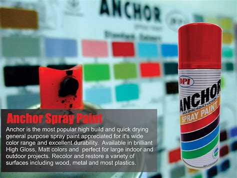 Aerosol Spray Paint   DPI Sendirian Berhad   Muar Aerosol