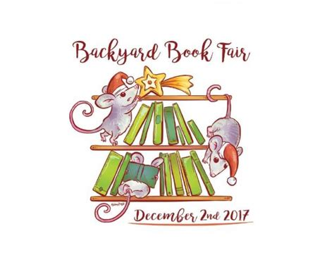 backyard book fair events exhibitions state library