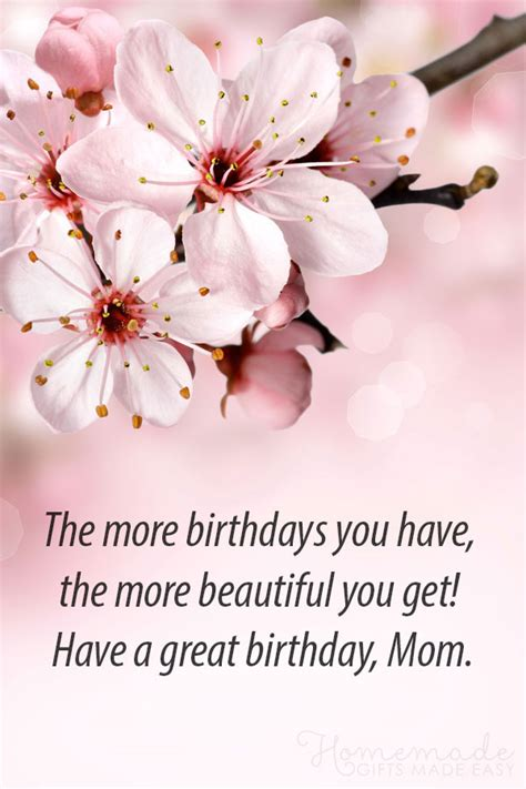 happy birthday mom wishes quotes messages