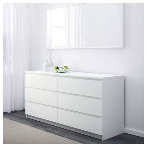 ikea malm bed drawers malm chest of 6 drawers white 160x78 cm ikea