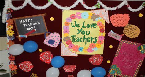 Decoration Ideas For Teachers Day Celebration by Teachers Day Class Decoration Www Pixshark Images