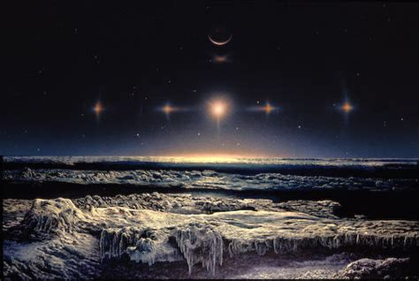 The View From Pluto by The View From Pluto Artwork Credit Don Dixon Images