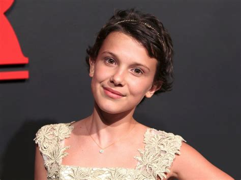eleven actress age star millie brown of stranger things posts videos