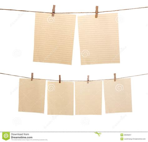How To Make Hanging With Paper - set of hanging paper sheet royalty free stock photography
