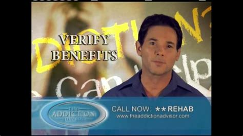 Commercial Insurance Detox by The Addiction Advisor Tv Spot Card In Your Wallet