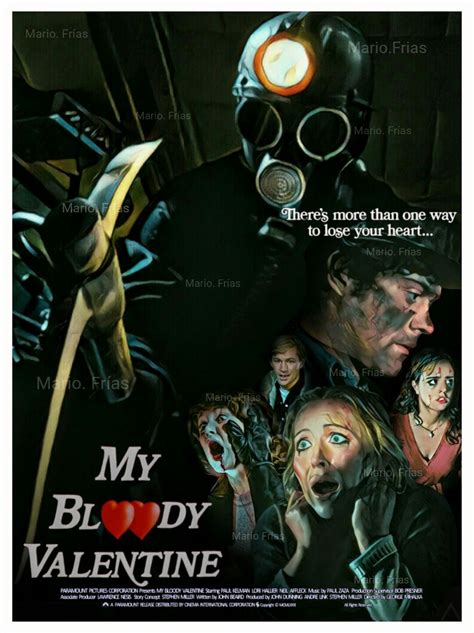my bloody poster my bloody 1981 horror slasher edit by