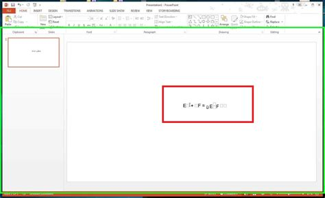 windows 7 equation editor does not work in word and