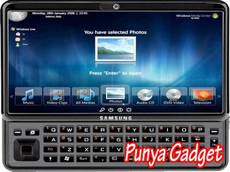 Tablet Samsung Windows 7 Punya Gadget Samsung Gloria Sepsifikasi Windows 7 Tablet Pc